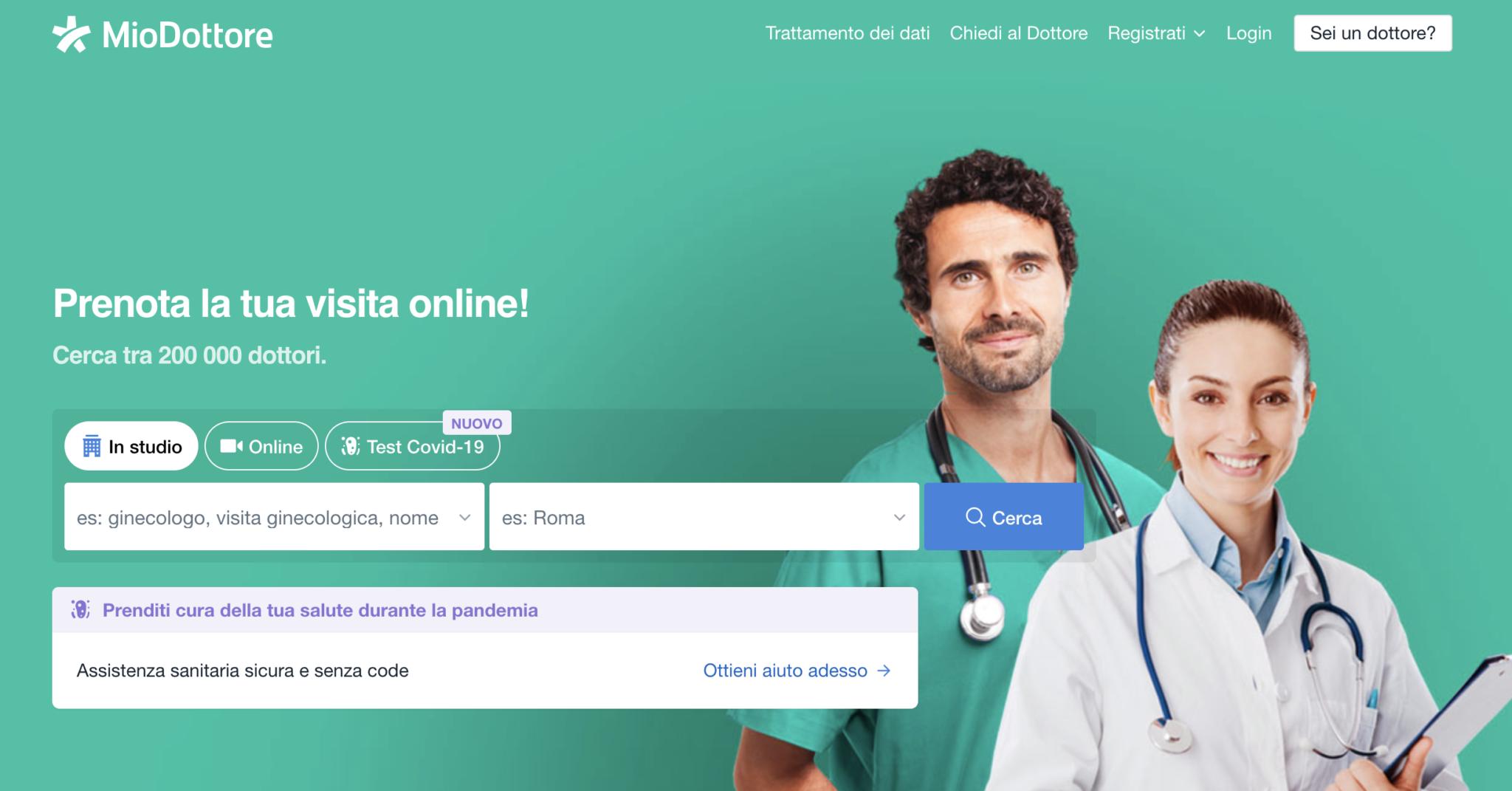 Mio Dottore, l'app per la salute: intervista a Luca Puccioni