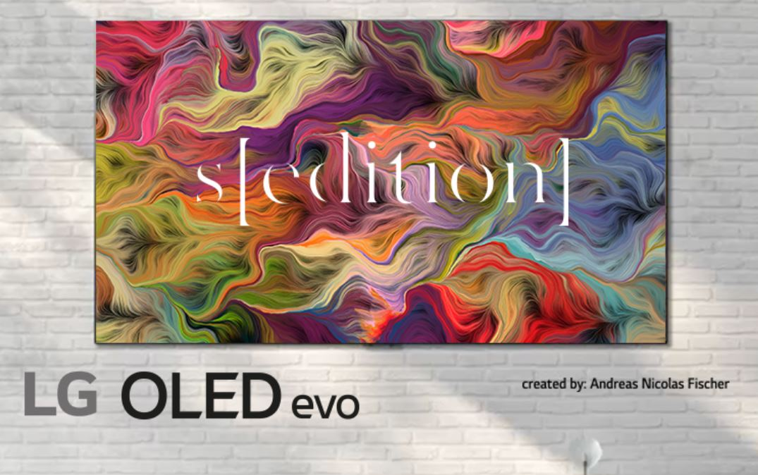 I Tv di LG come quadri d'arte: accordo con Sedition Art