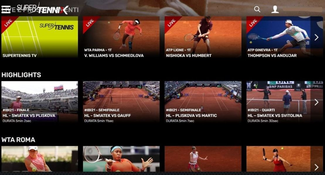 Nasce SupertenniX, la Netflix del tennis