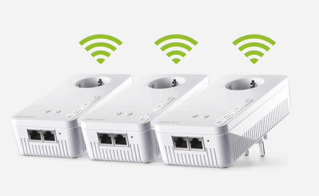 kit devolo connessione wifi mesh