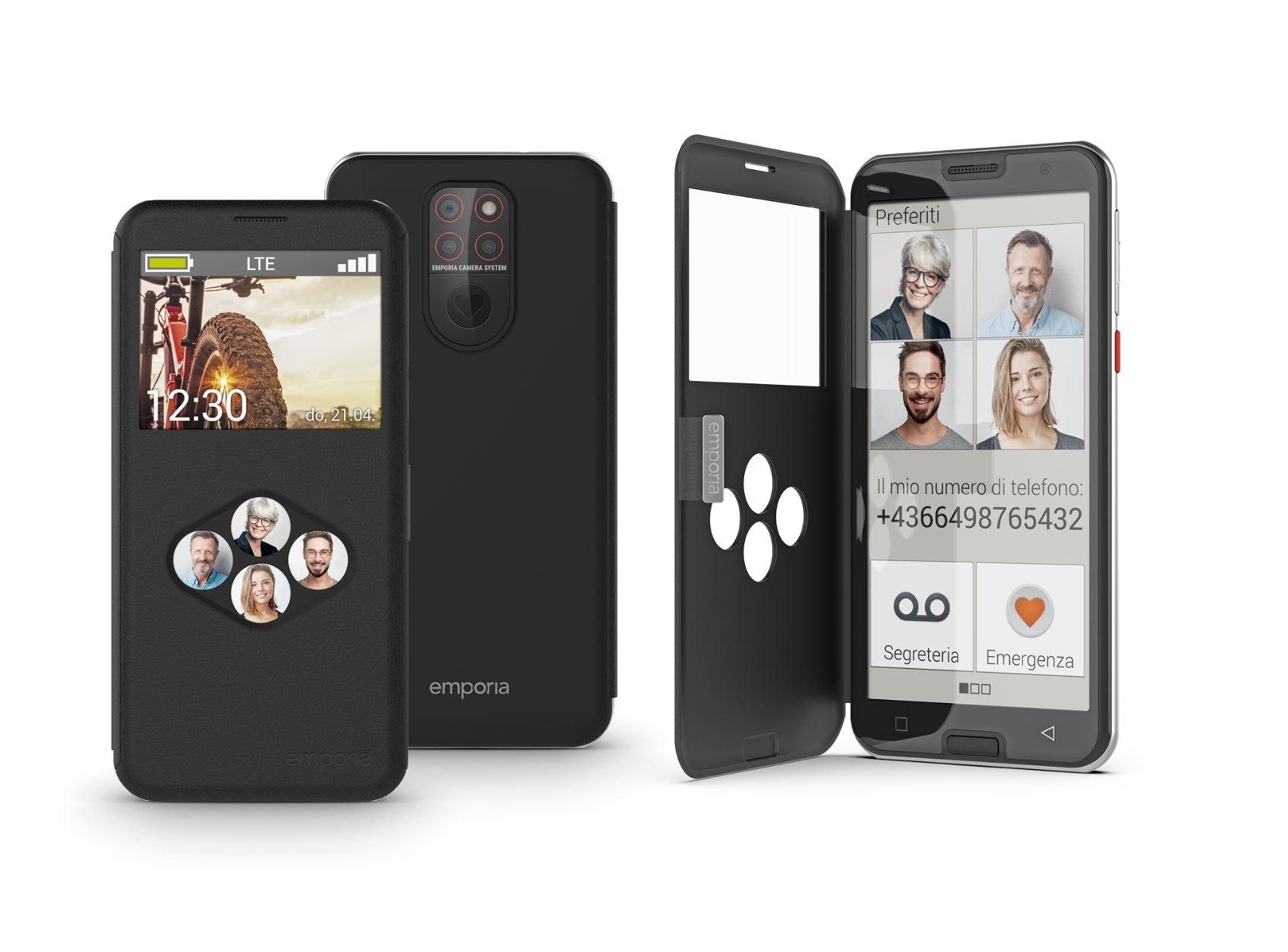 Il nuovo smartphone emporia per la generazione Senior