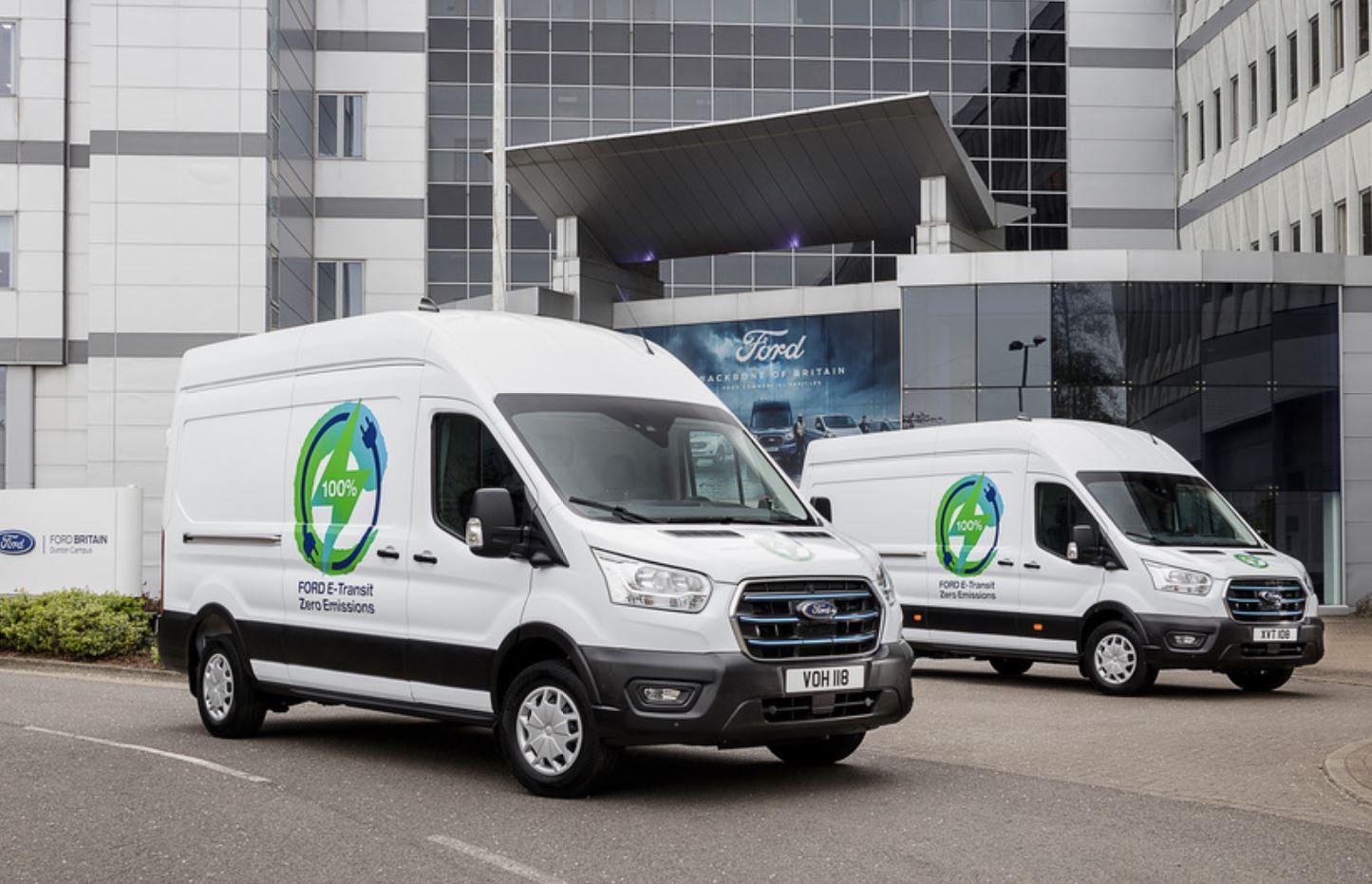 Ford annuncia il via ai test del furgone elettrico E-Transit