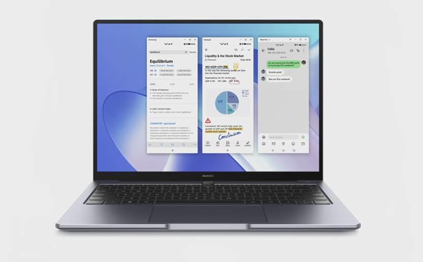 Il MateBook 14 di Huawei con processore Intel