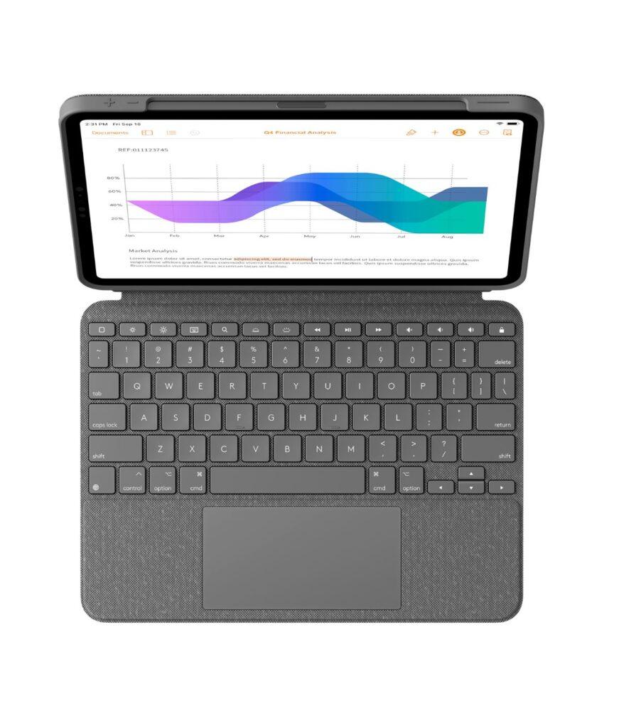 Logitech Copnbo Touch Apple iPad Pro