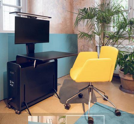SINTESI, la postazione di lavoro smart by Olivetti e Tecno