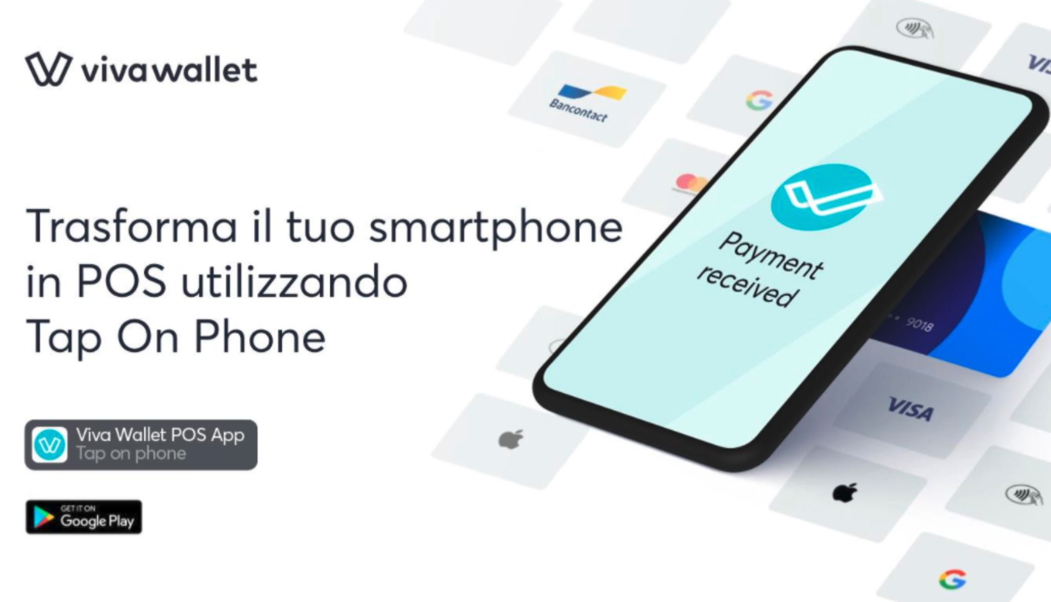 smartphone Android POS