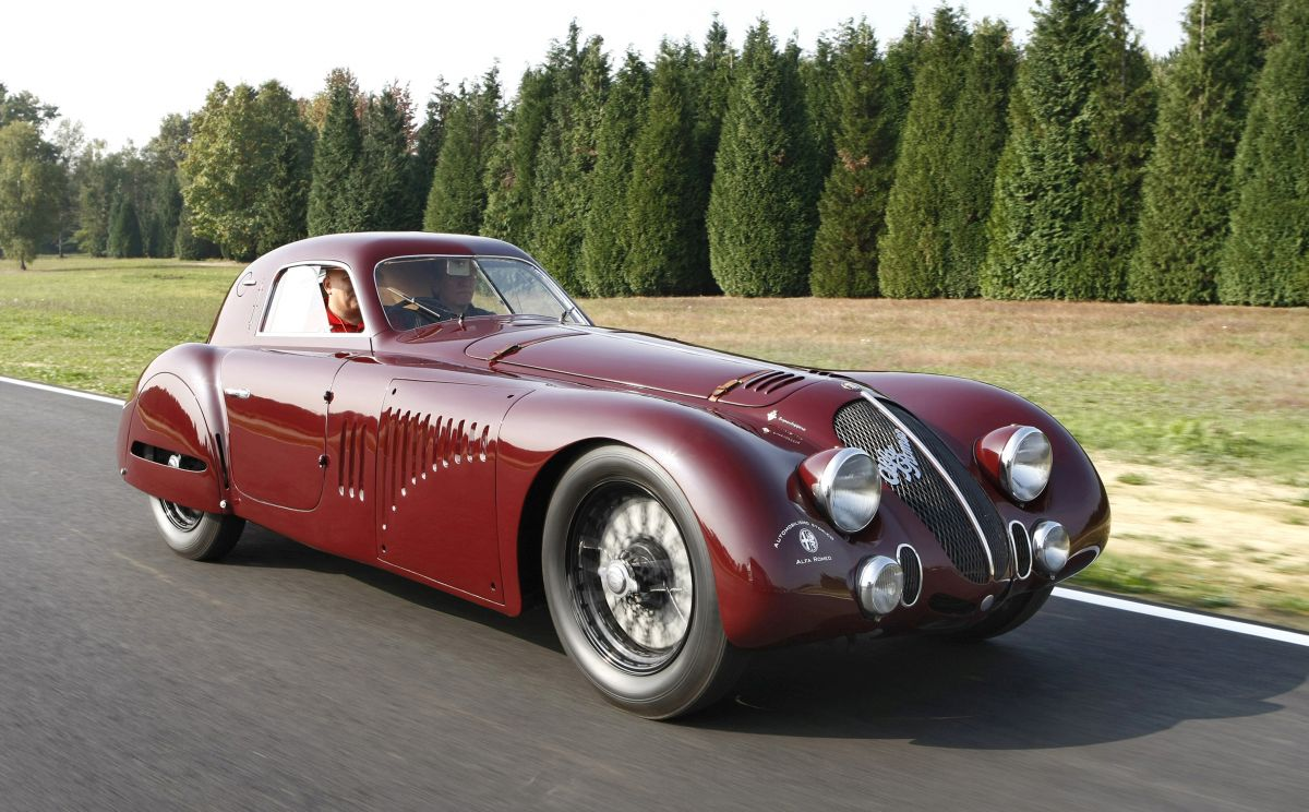 Alfa Romeo 8C 2900 B Le Mans e 33 Stradale al REB Concours Roma