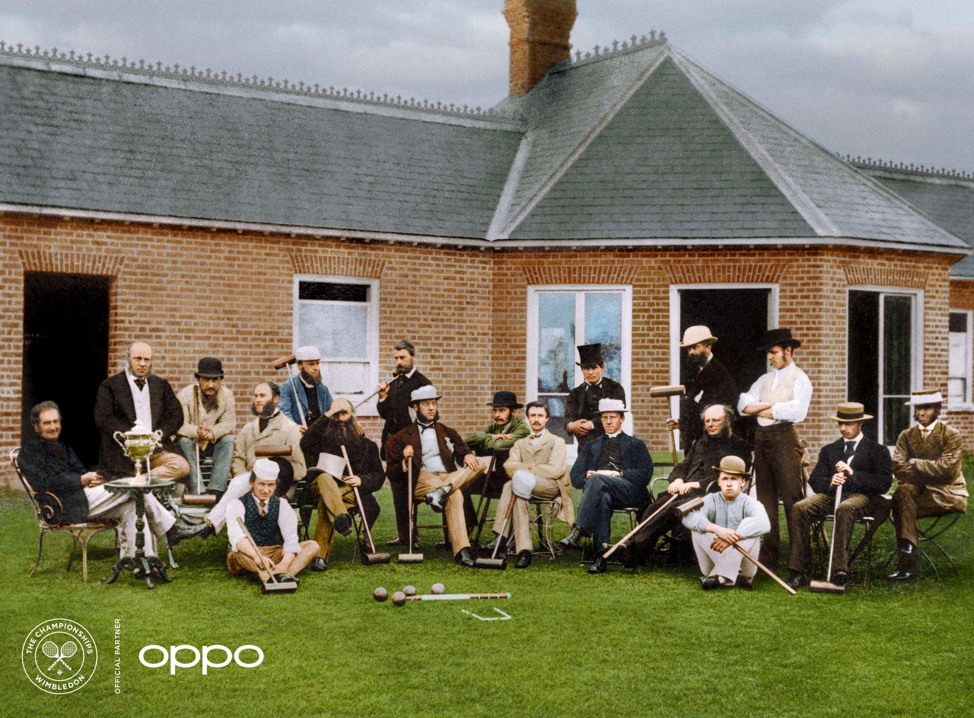 OPPO mette il colore alle foto iconiche di Wimbledon