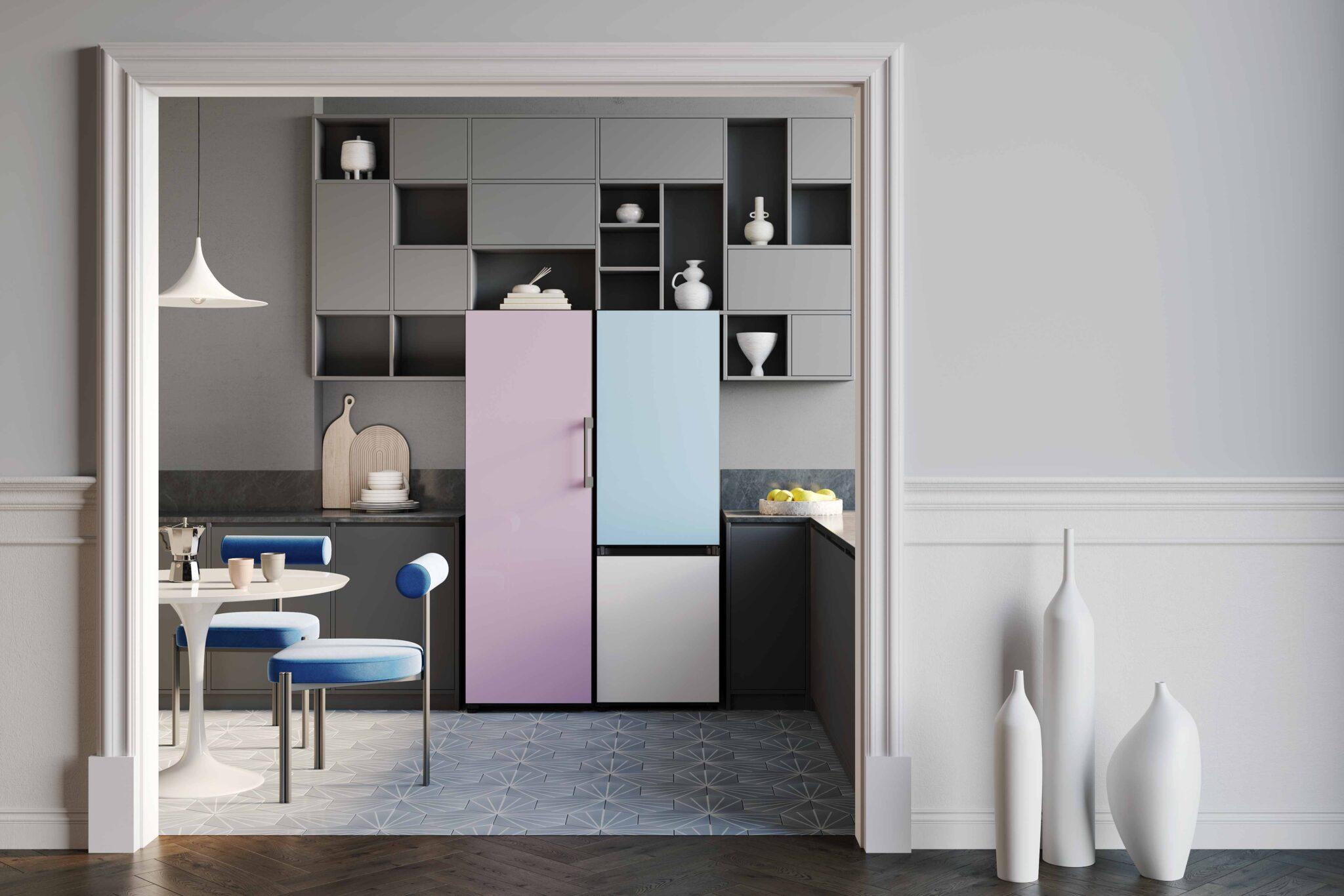 I frigoriferi smart e di design Samsung BESPOKE: intervista video a Daniele Grassi