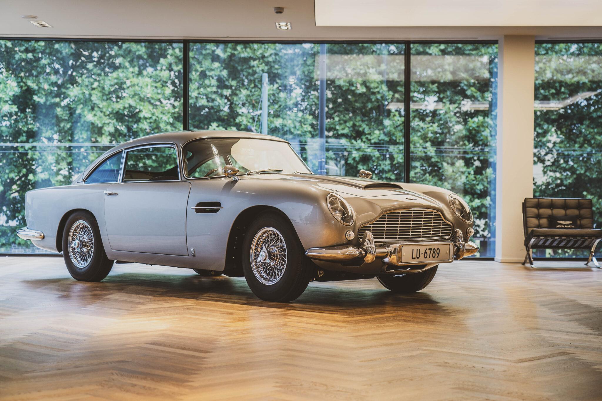Aston Martin ripropone l'auto di James Bond. In 25 esemplari