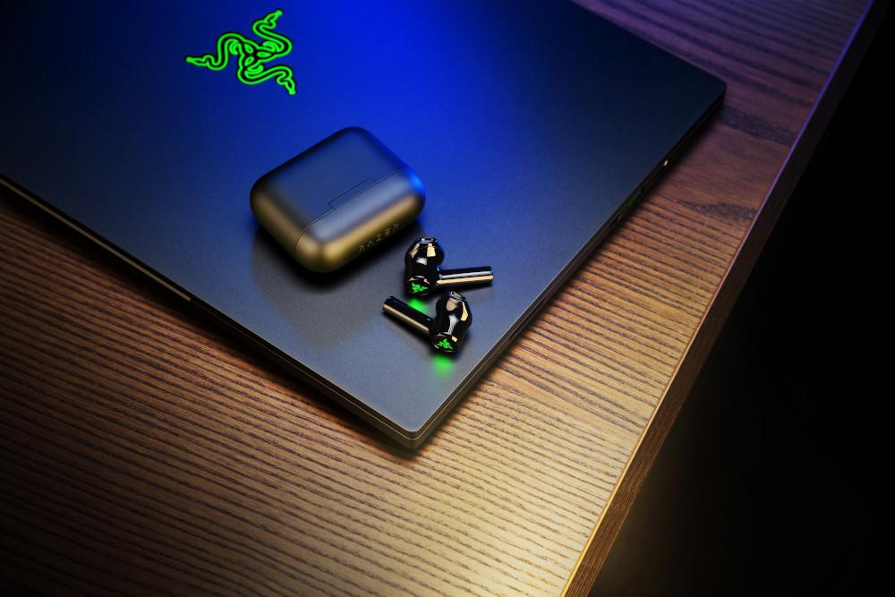 Gli auricolari Hammerhead True Wireless X di Razer