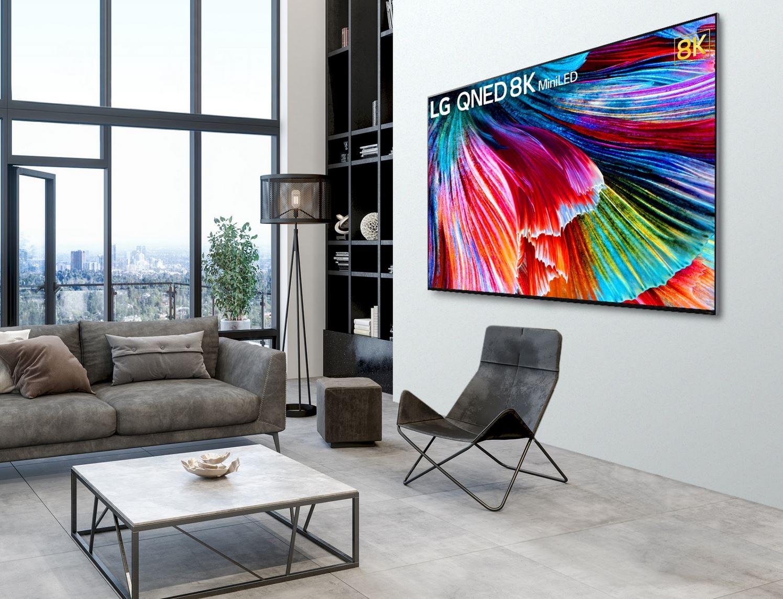 I nuovi Tv QNED di LG arrivano sul mercato italiano