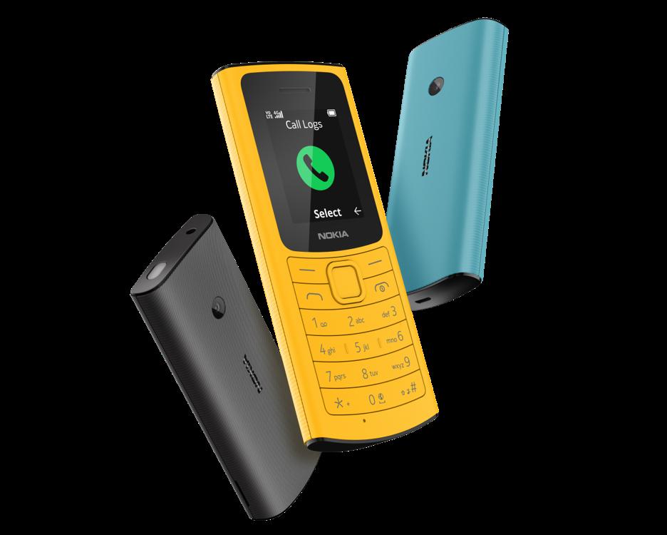 HMD Global: ecco i nuovi Nokia 105 4G e 110 4G