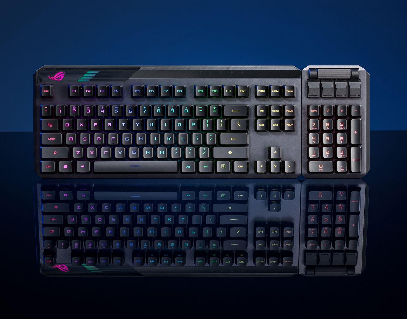 ROG Claymore II, la nuova tastiera gaming via cavo o wireless
