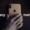 Apple privacy tracking