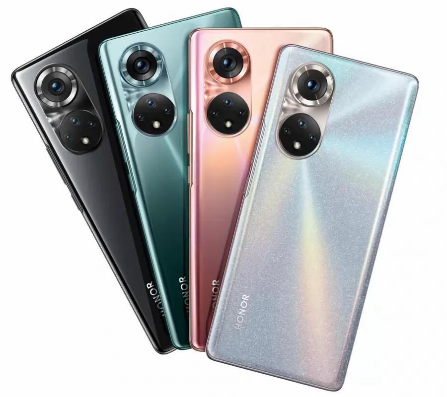 La nuova Serie di smartphone Honor 50