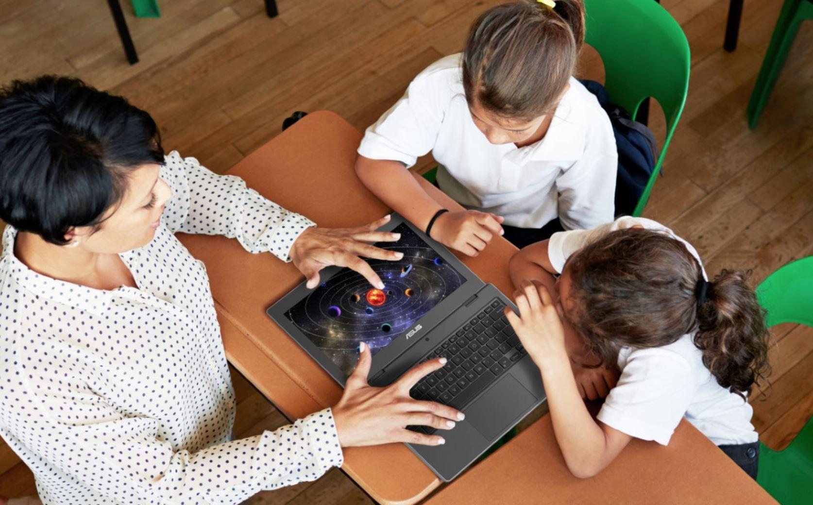 I nuovi computer Asus per il settore Education