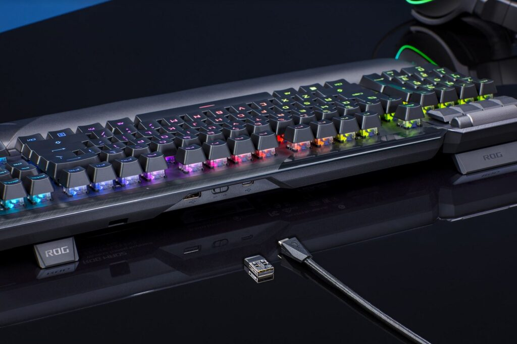 tastiera gaming cavo wireless