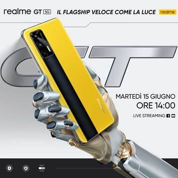 realme smartphone GT