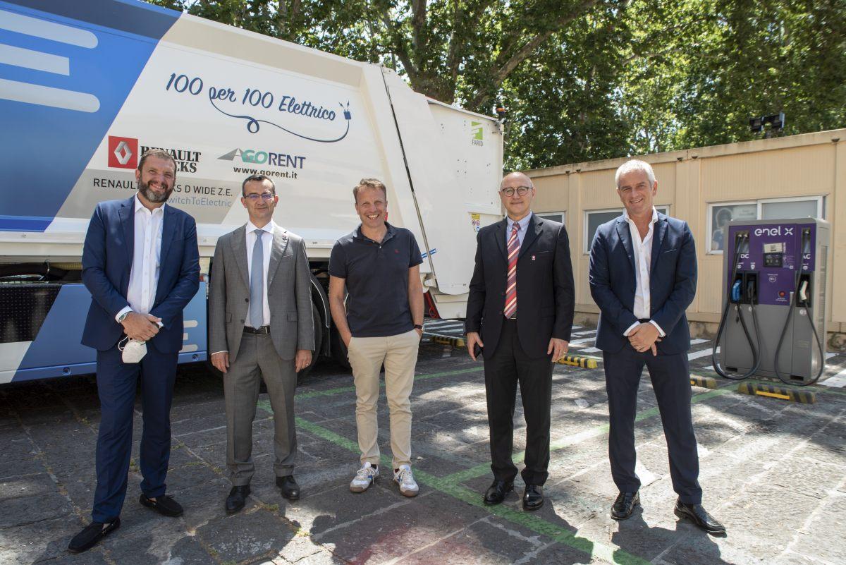 Renault Trucks ed Enel X insieme per diffusione mobilità elettrica