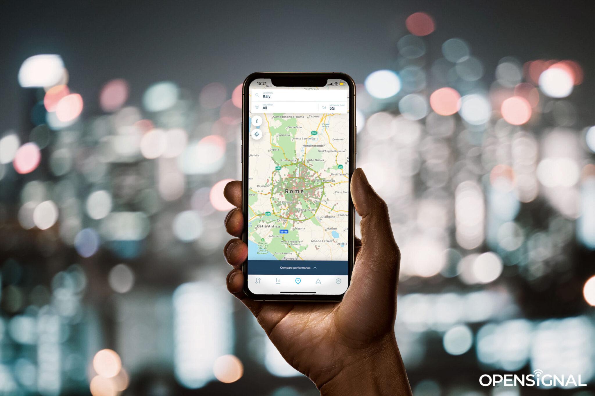 Smartphone 5G, la situazione nell'analisi Opensignal