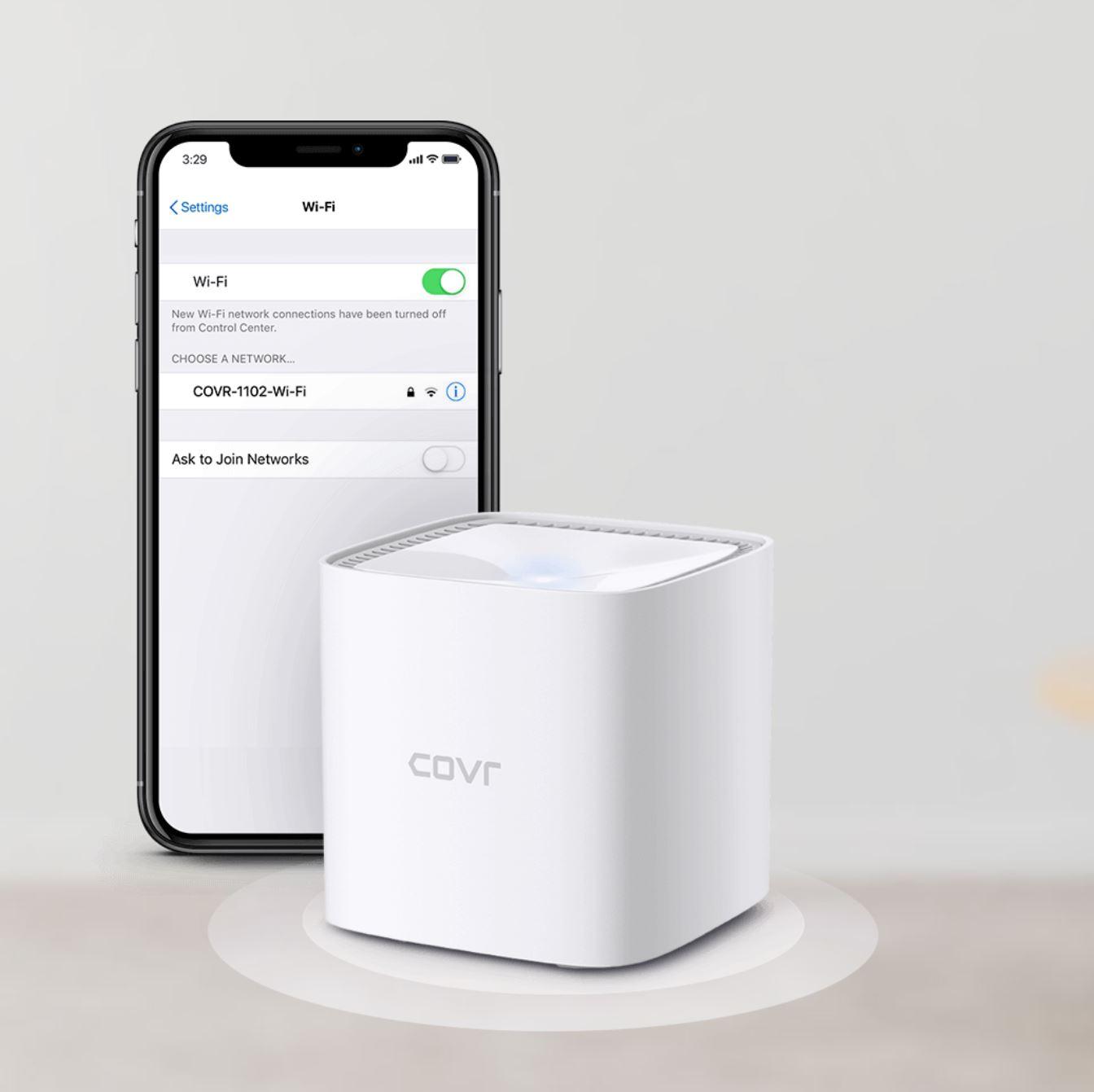 La nuova gamma di sistemi Mesh Wi-Fi di D-Link