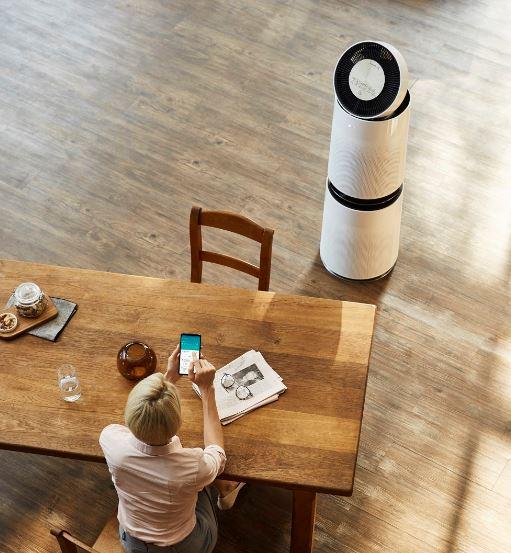 climatizzatori purificatori LG Alexa