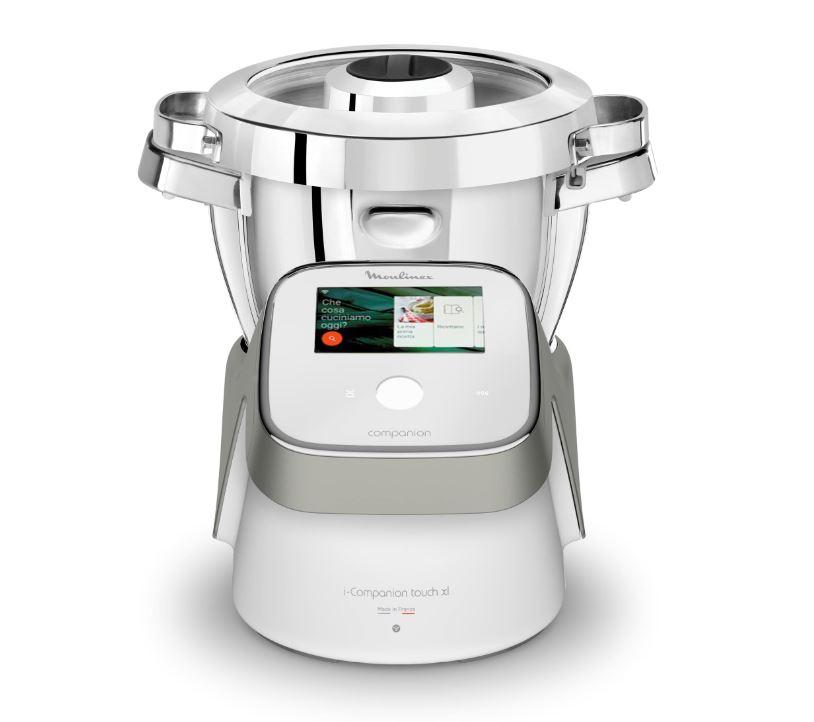 I due robot da cucina Moulinex connessi e con il display