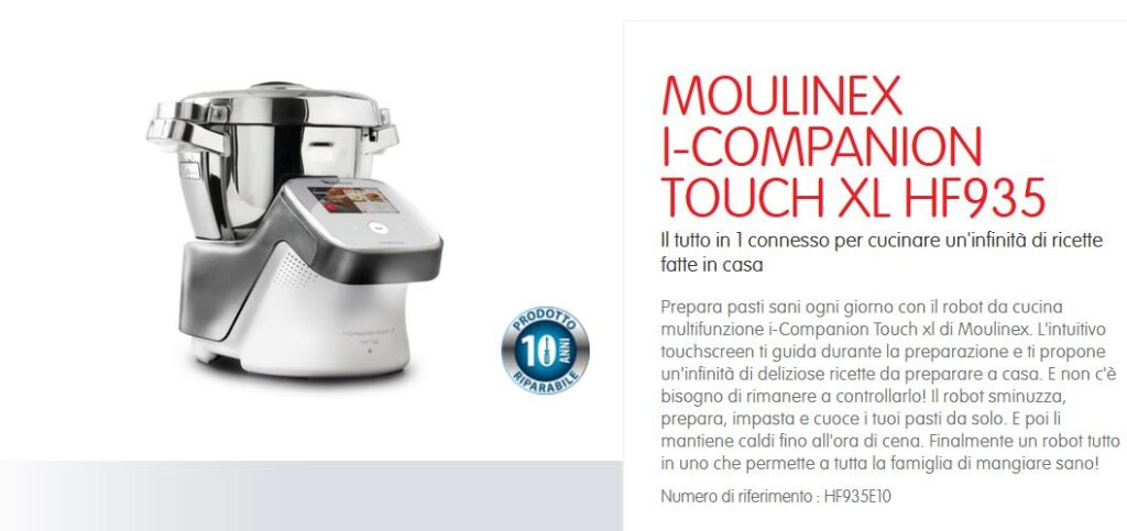 Moulinex Companion robot da cucina