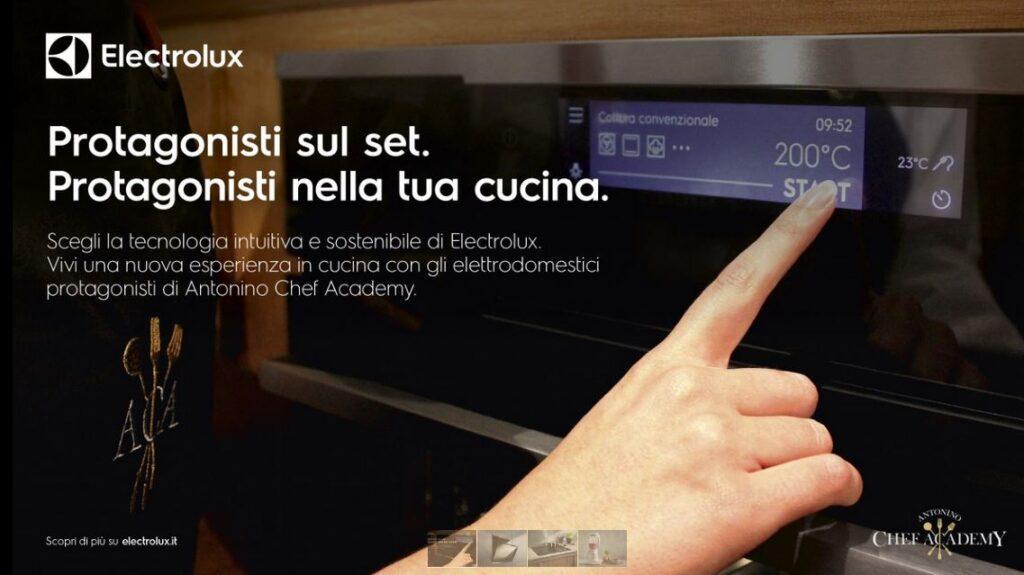 Electrolux cucina Antonino Chef Academy