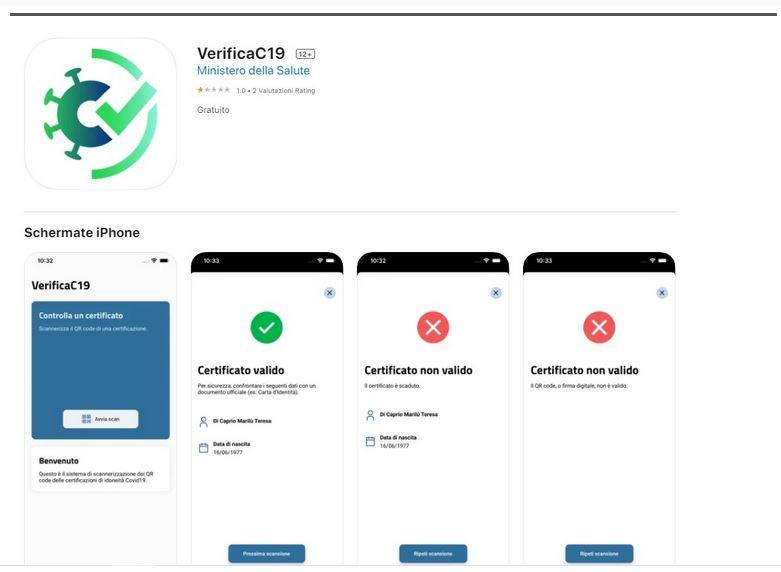 app verifica Green Pass
