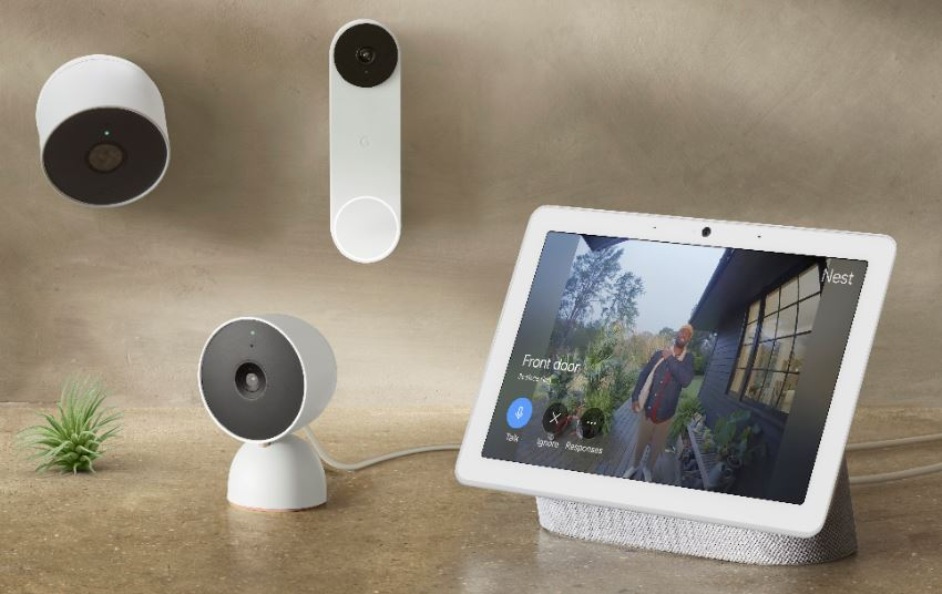 La nuova generazione di campanello e videocamere Nest di Google