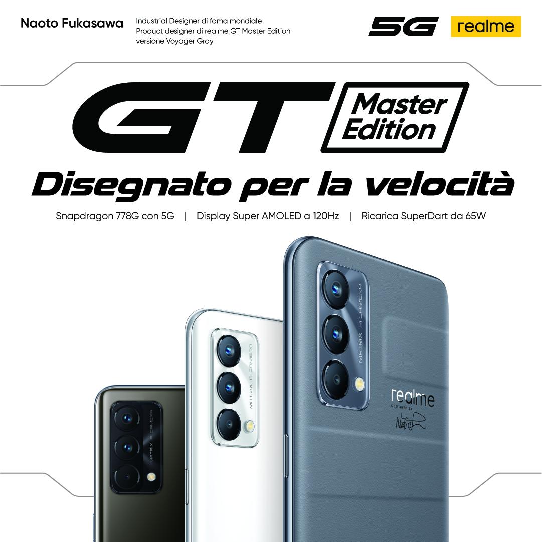 realme lancia GT Master Edition e GT Explorer Master Edition