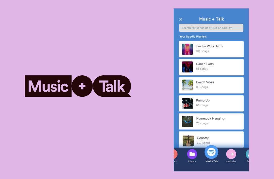 Music+Talk, la nuova funzione podcast di Spotify e Anchor