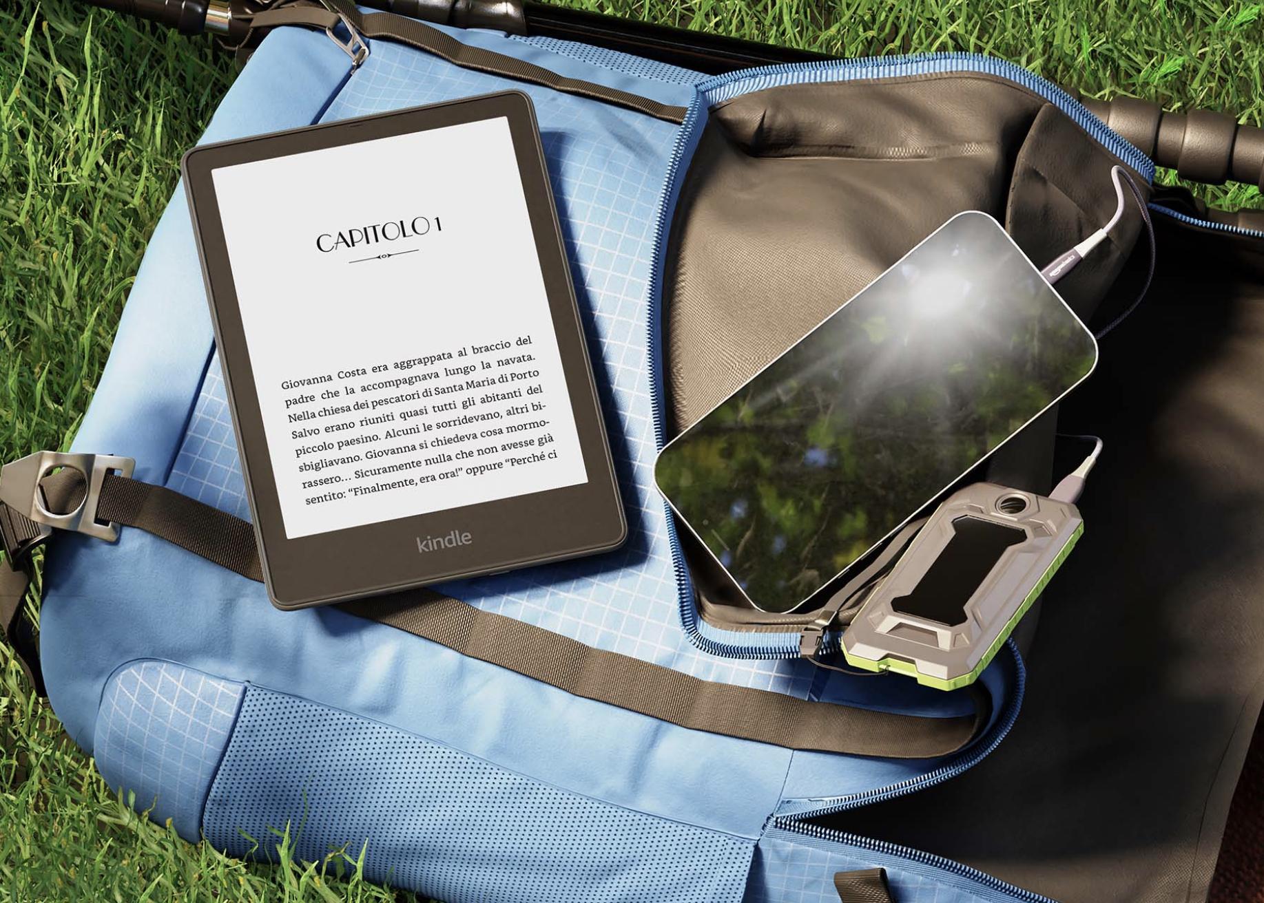 Ecco il nuovo Kindle Paperwhite. Anche con la Signature Editions