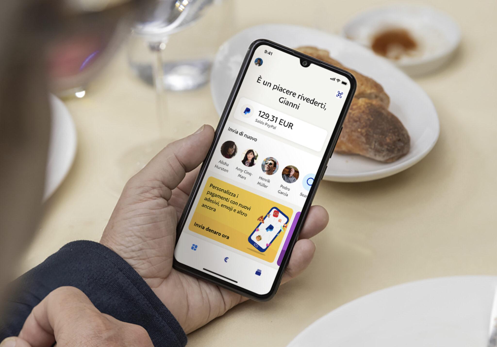 Come si utilizza la nuova app di PayPal