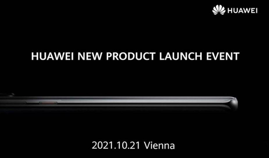 Huawei P50 evento Vienna