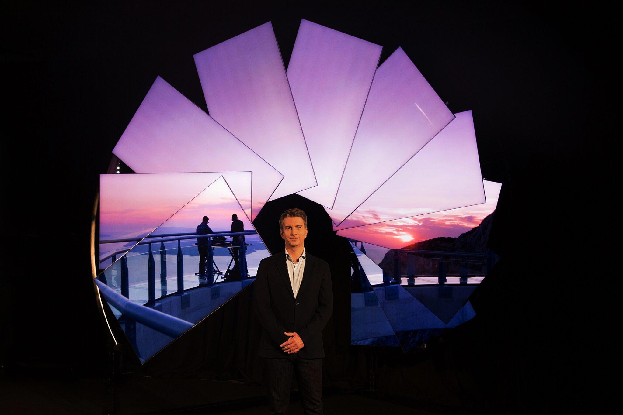 I Neo QLED Tv di Samsung e l'installazione di Michael Murphy