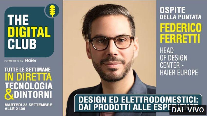 Gli elettrodomestici Haier e il design a The Digital Club
