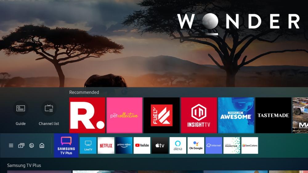 I nuovi 7 canali gratuiti sulle Smart Tv di Samsung