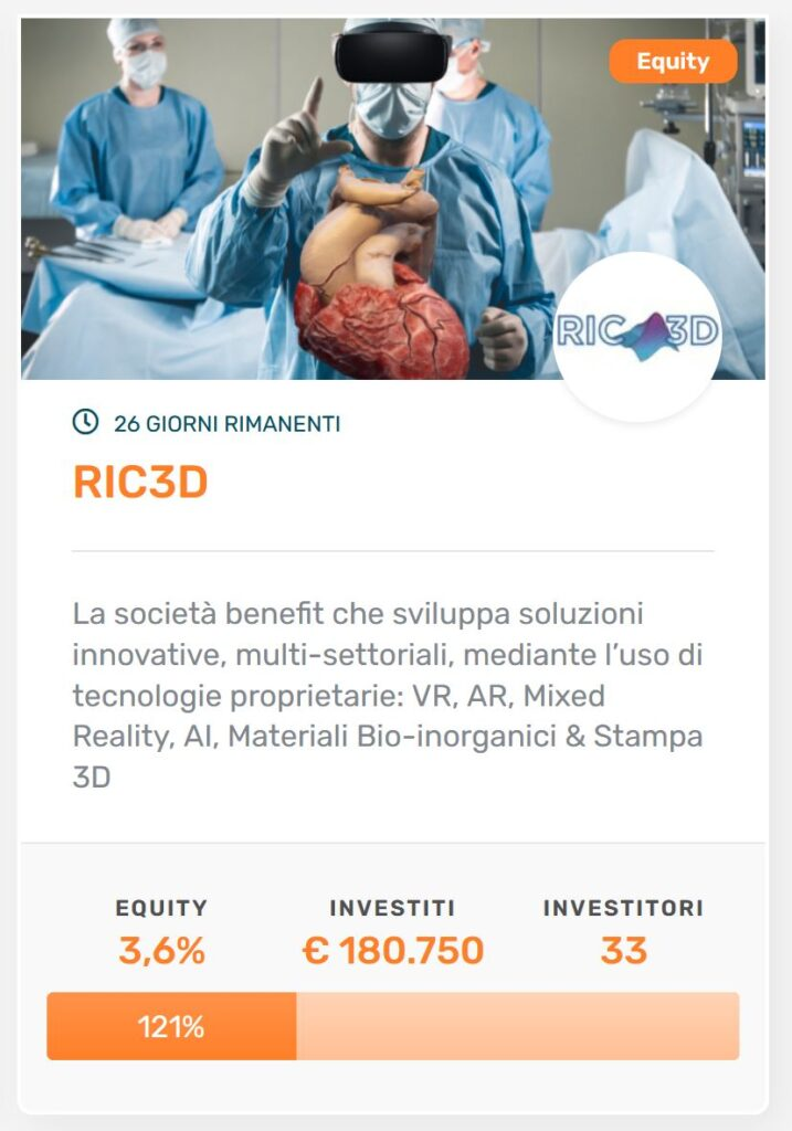 equity crowdfunding RIC3D
