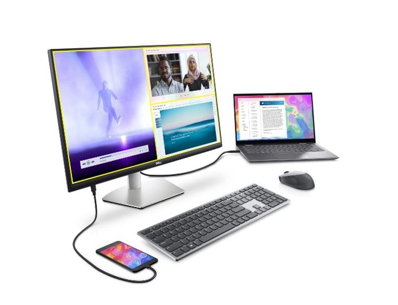 Le soluzioni Dell per i monitor da lavoro e intrattenimento