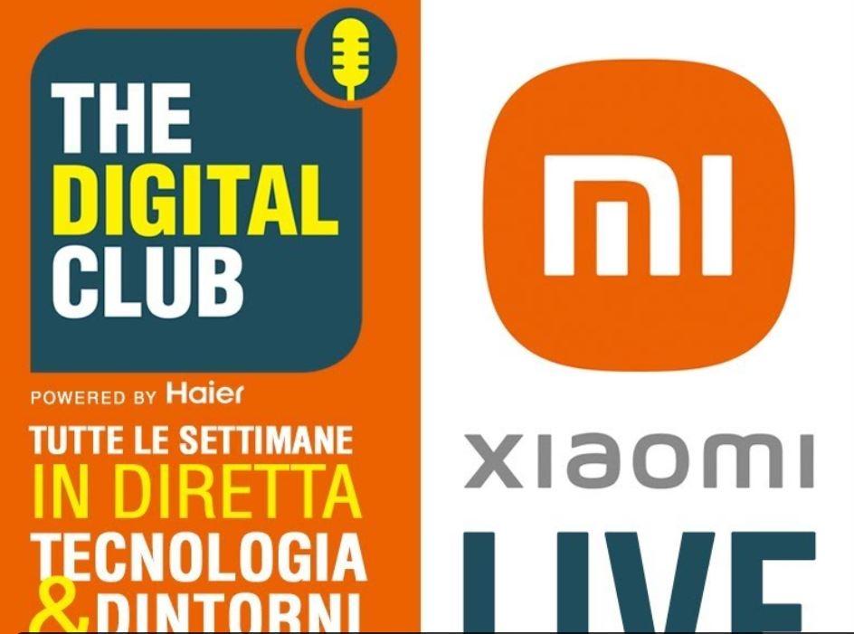 Torna The Digital Club, speciale evento live Xiaomi