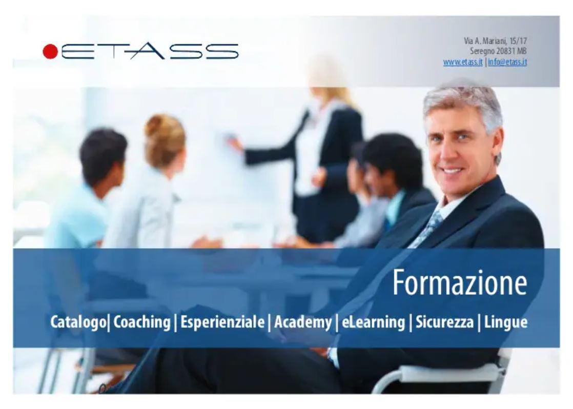 I corsi gratuiti ETAss per la formazione lavoro Under 30