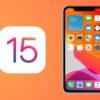 aggiornamento iOS 15