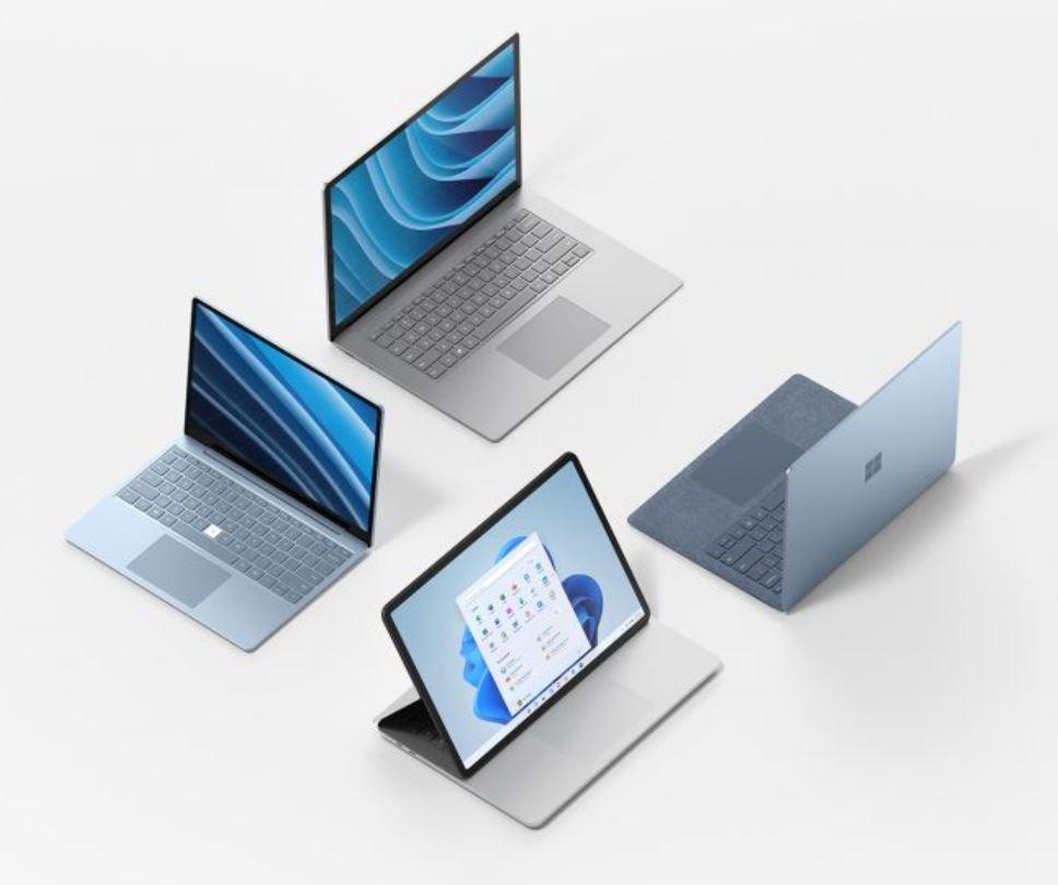La nuova gamma di prodotti Microsoft Surface