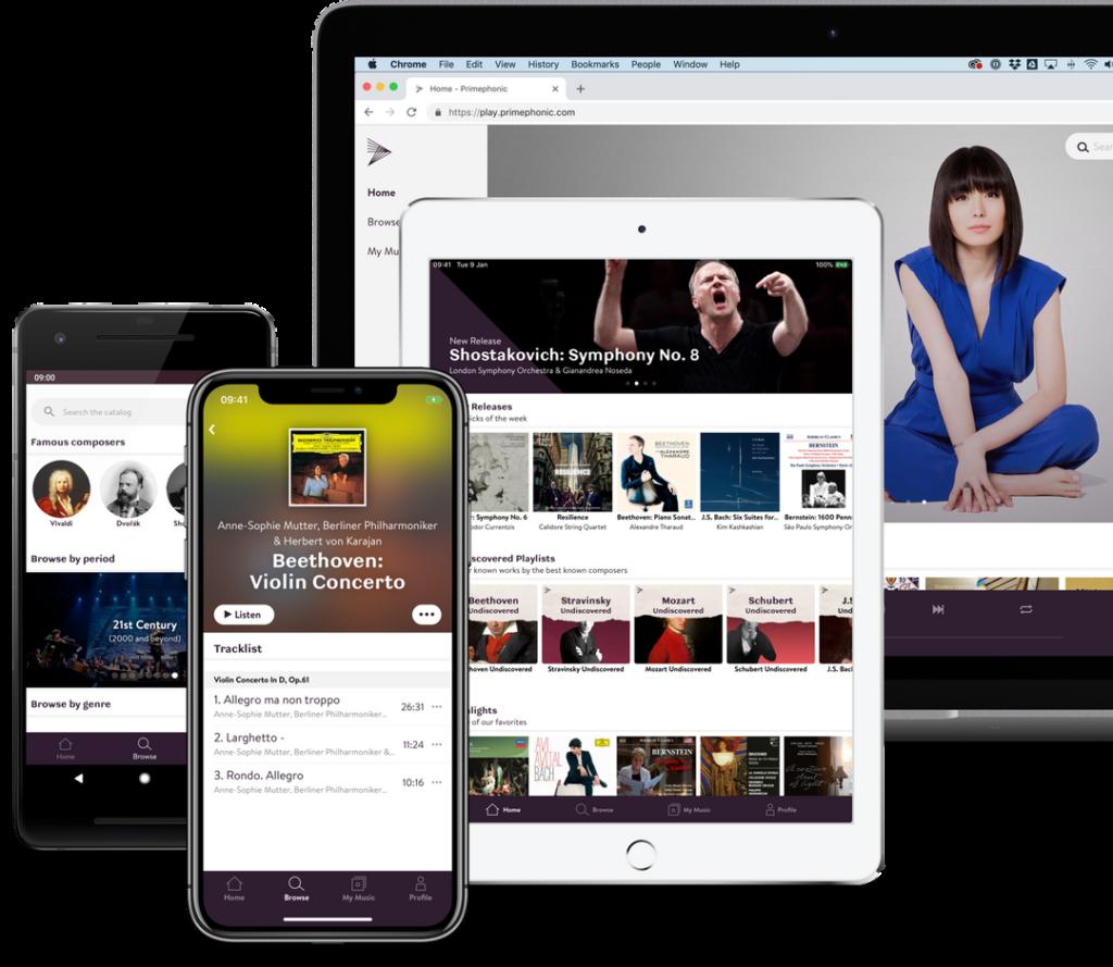 Apple streaming musica classica