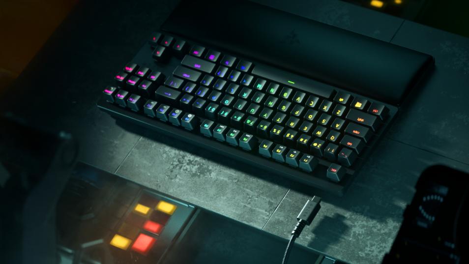 tastiera gaming ottica razer