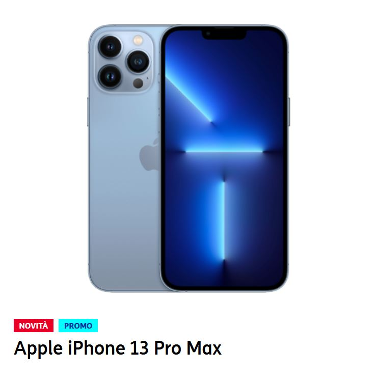 Le offerte TIM per gli iPhone 13 con rete 5G