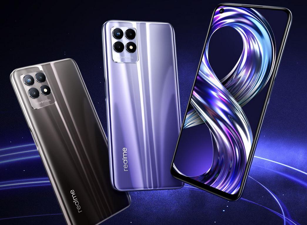 realme 8i, lo smartphone con display a 120 Hz sotto i 200 euro